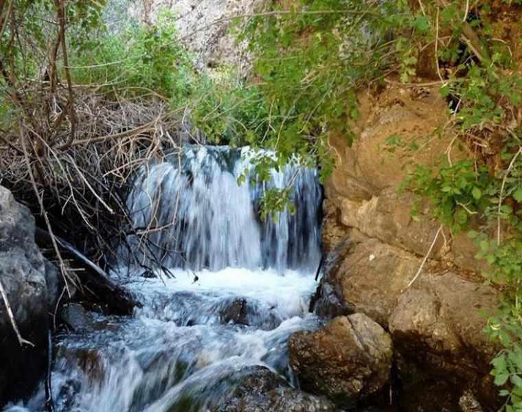 آبشار گرینه نیشابور، محل زندگی زرتشتیان