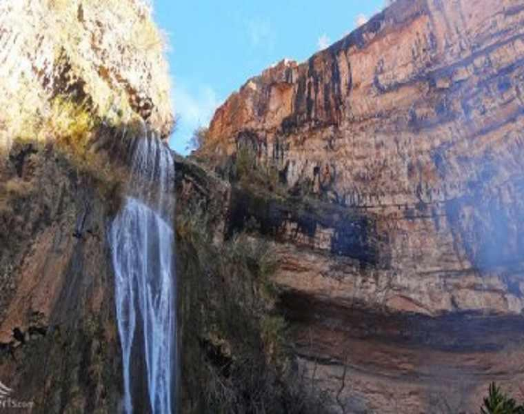 آبشار گنده گاو