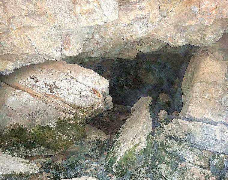 غار سرنی نیشابور