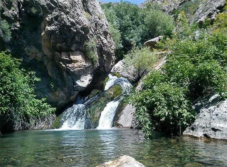 آبشار و دره سراب قوچان
