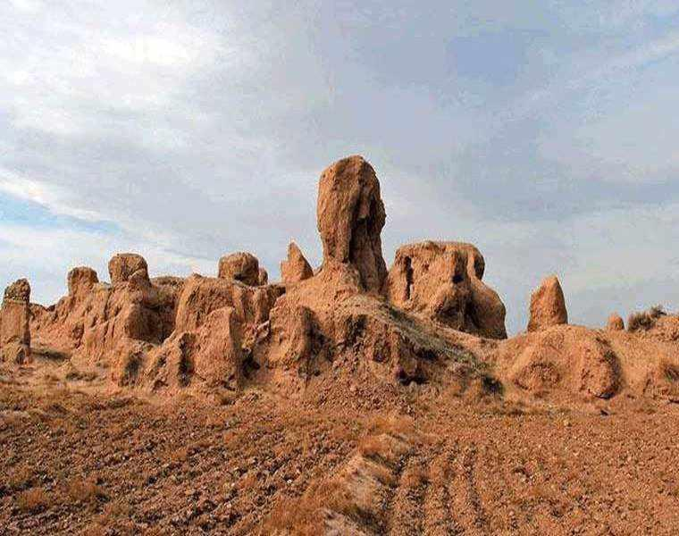 منطقه باستانی شهر شادیاخ، محل زندگی سپهسالار