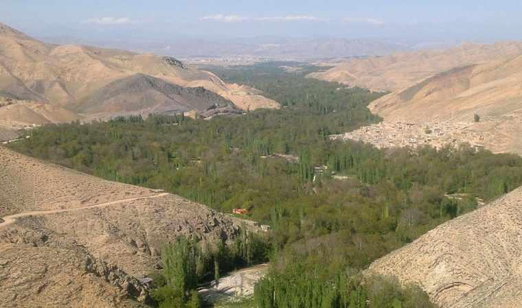 روستای فیروزه