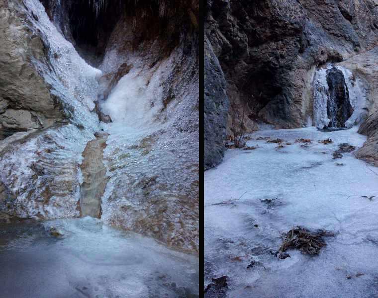 آبشار بید و غار اژدر