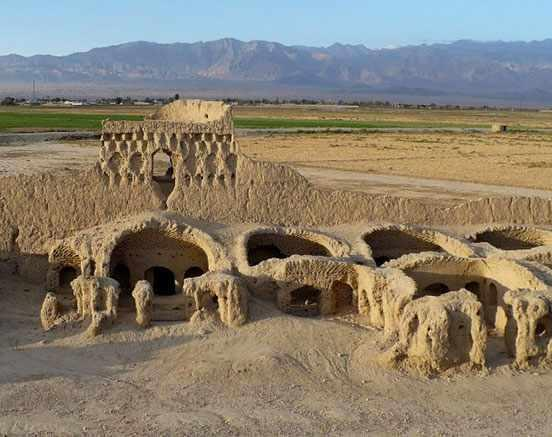 محوطه تپه حصار دامغان