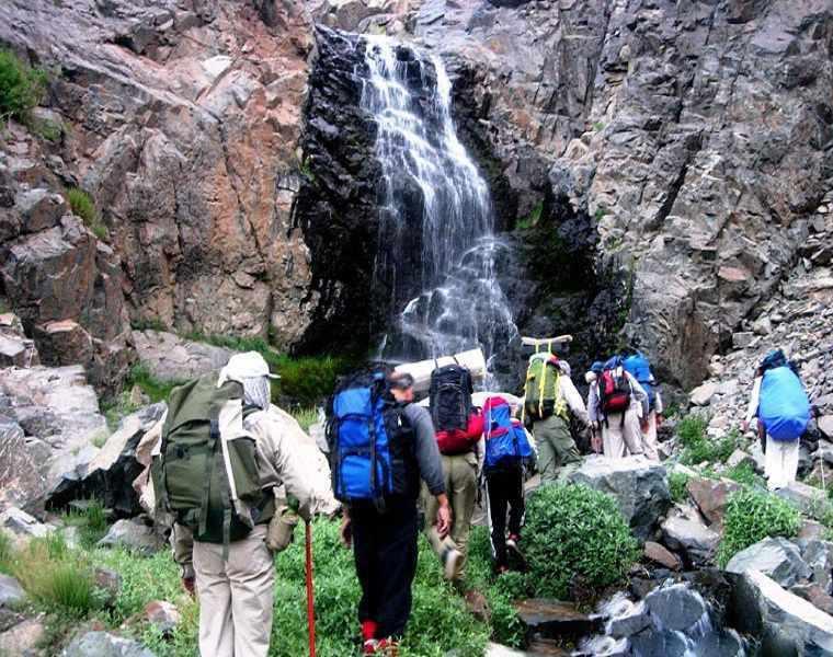 آبشار عشق آباد