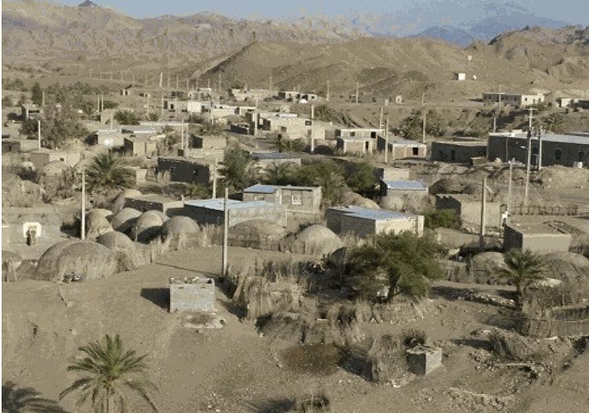 روستای کویری همیشه بهار کشیت