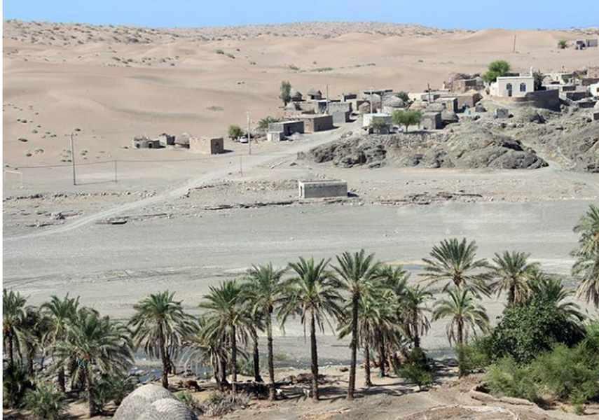 دهستان رمشک قلعه گنج کرمان