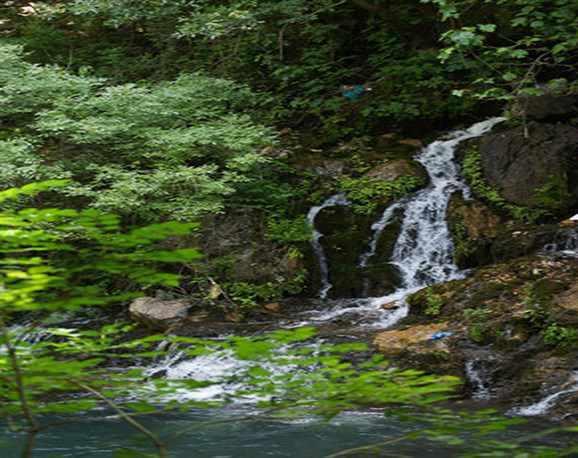 آبشار دره سبزرود