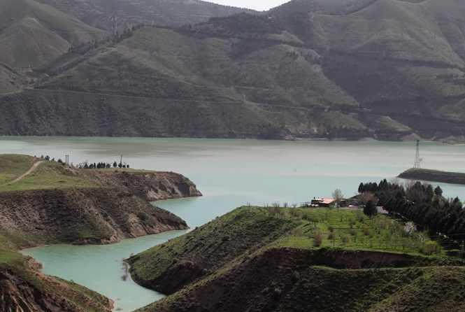 روستای سد چمران