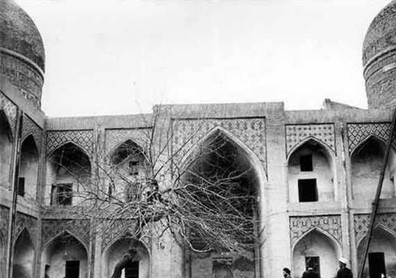 مدرسه دو درب مشهد