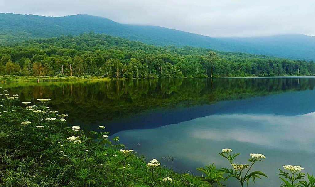 دریاچه دیدنی الندان