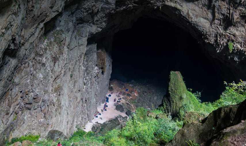 غار پشمکی رامیان، غار خزه ای گلستان