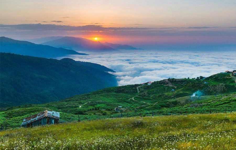 روستای فیلبند یا سنگ چال مازندران