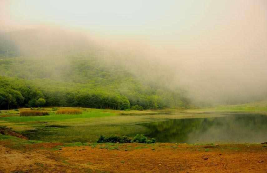 دریاچه بره سر - دریاچه ویستان