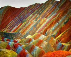 کوه های رنگین کمانی آلاداغلار، اعجاز رنگ بر روی زمین