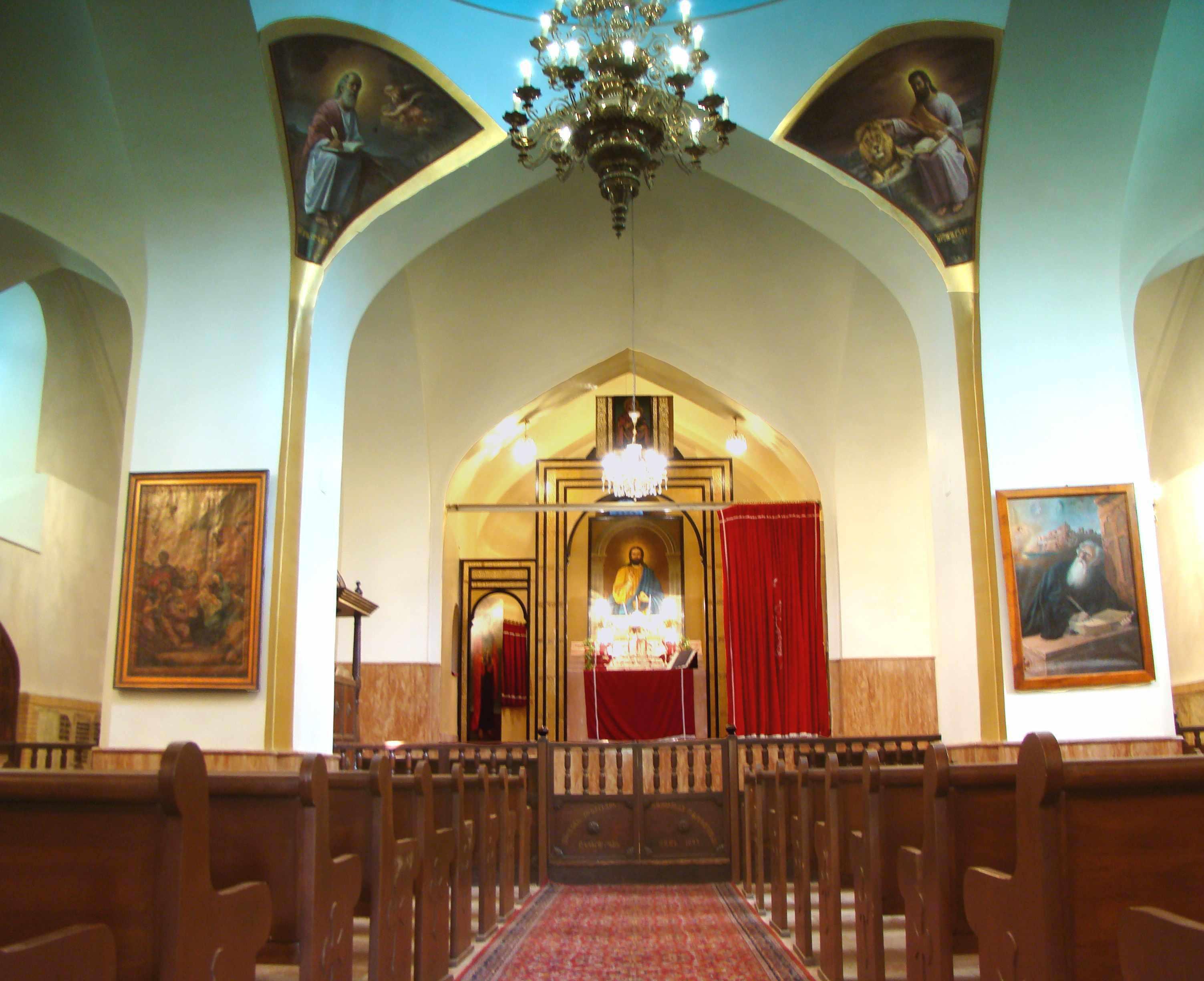 کلیسای رفیع شهر قزوین، کلیسای ارامنه