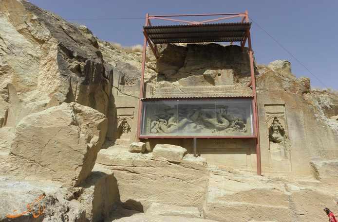 معبد داش کسن، عبادتی از جنس اژدها