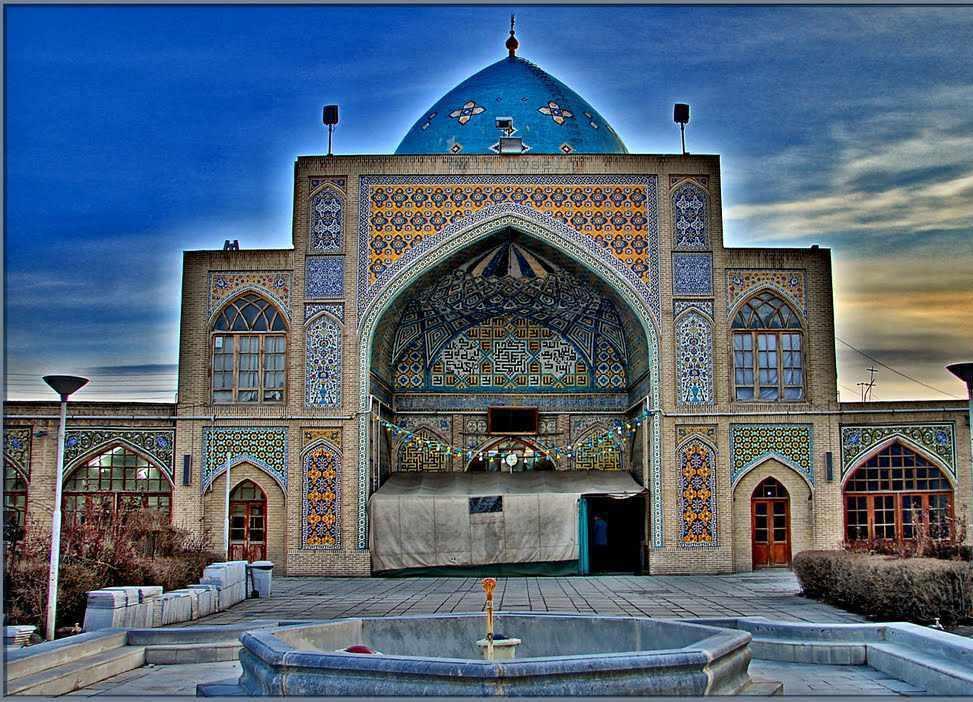 مسجد جامع زنجان، یادگاری از دوران قاجار