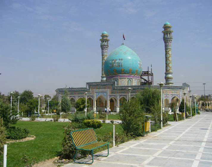 امامزاده طاهر (ع)، بنای باشکوه صفوی