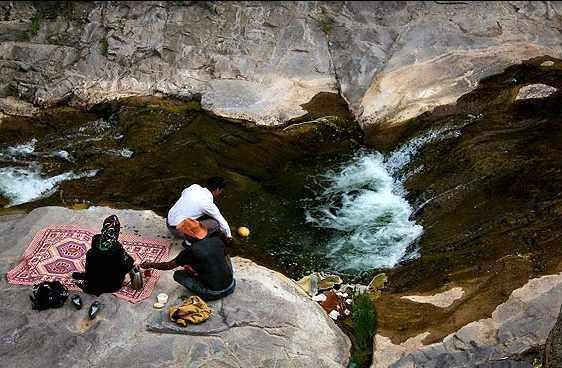 آبشار گله خانه (کله خانه) ابهر