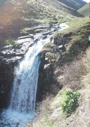 آبشار ایلان درسی، آبشاری زیبا در منطقه حفاظت شده سرخ آباد
