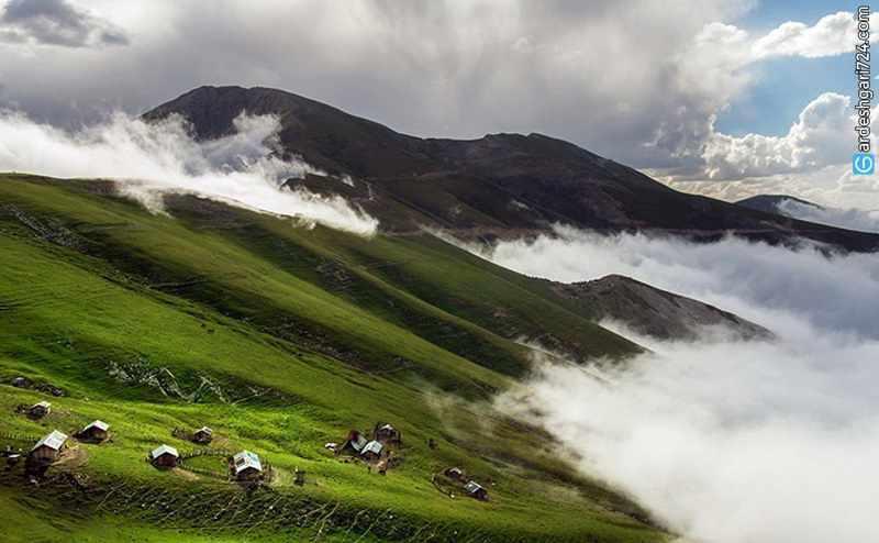 منطقه ییلاقی دشت النزه گیلان