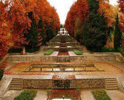 باغ ایرانی، از زیباترین باغ های تهران