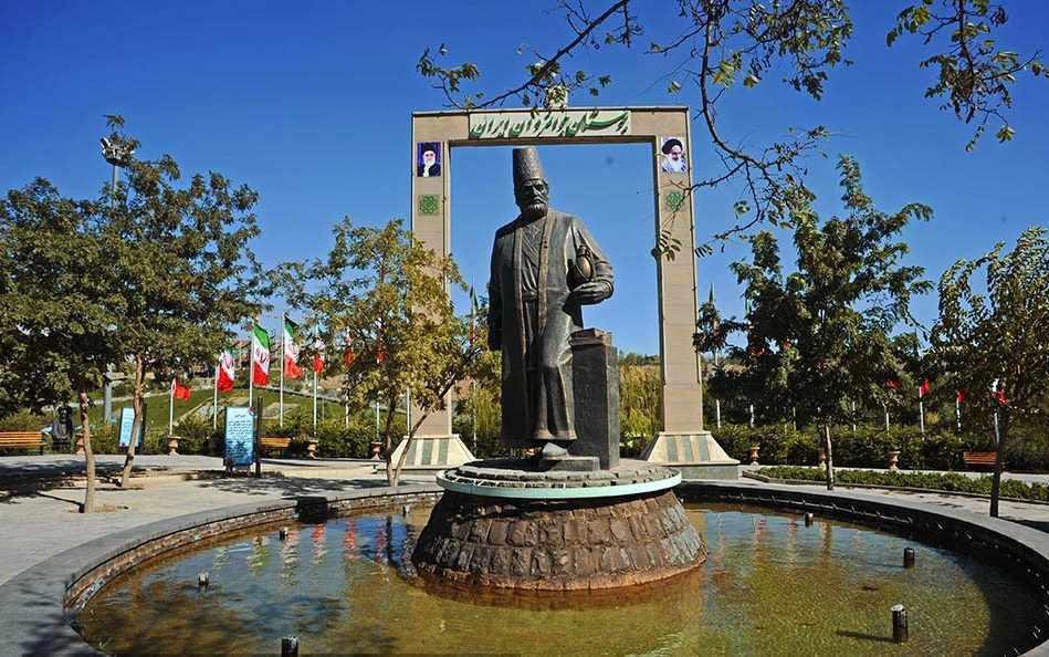 بوستان جوانمردان ایران، بازدید از مشاهیر ایران
