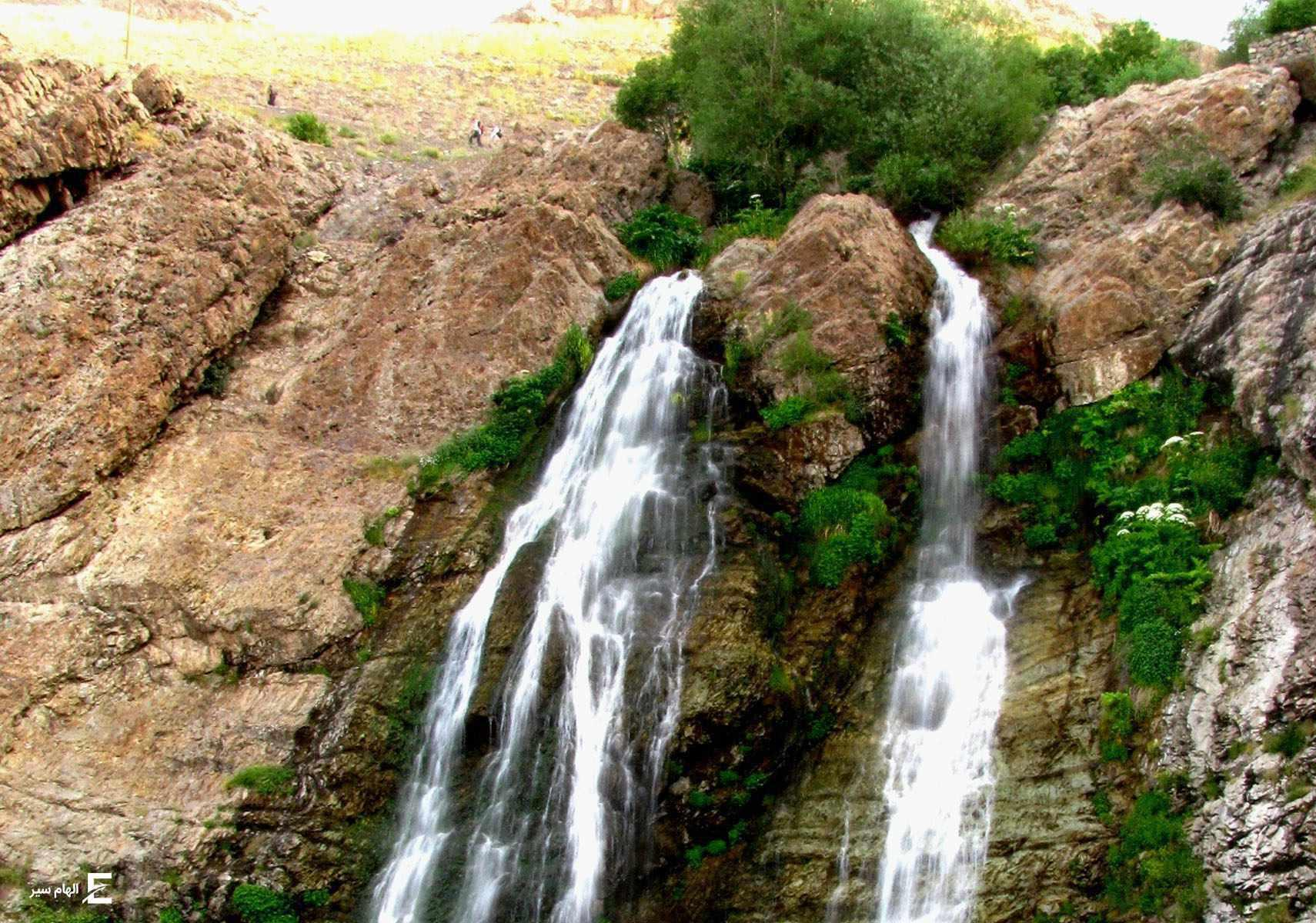 آبشار دوقلو، آبشار بیشه تهران
