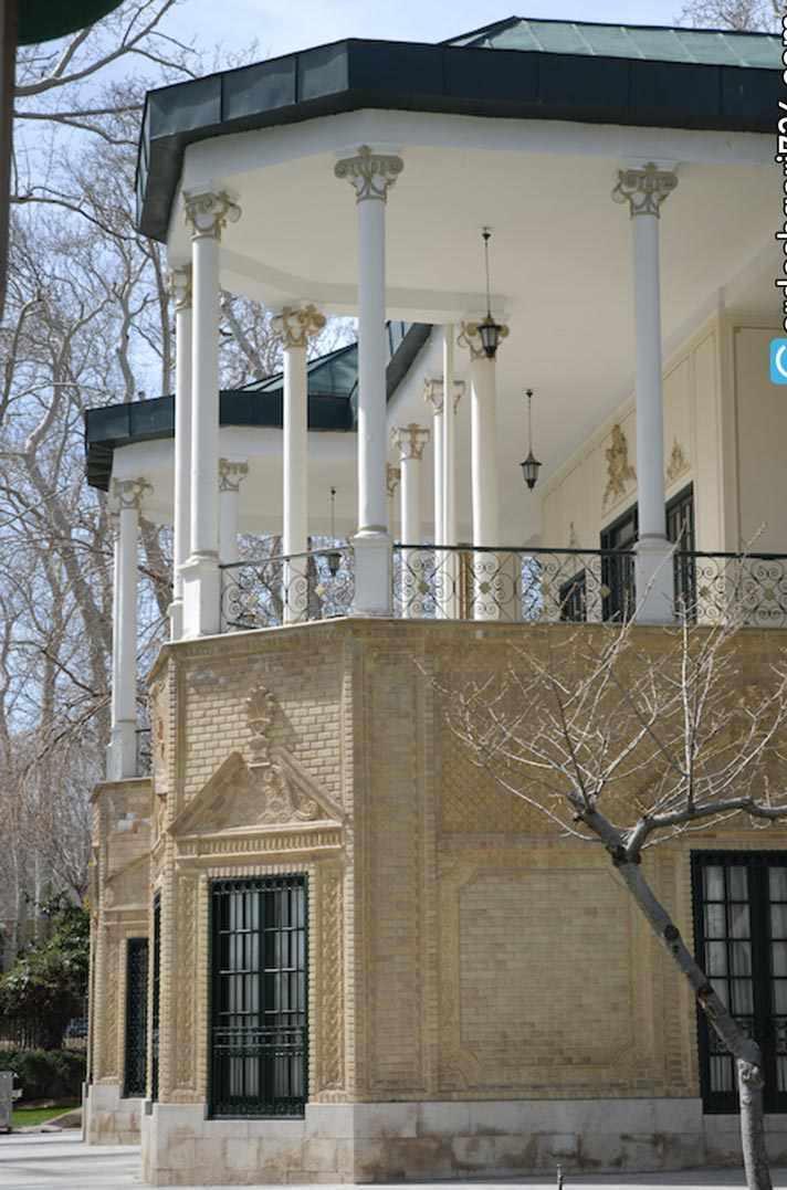 کوشک احمد شاهی تهران، عمارتی با شکوه