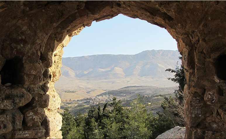 گهواره دید، بام شیراز