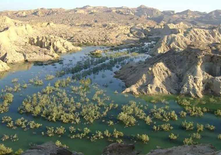 سد و روستای گوران