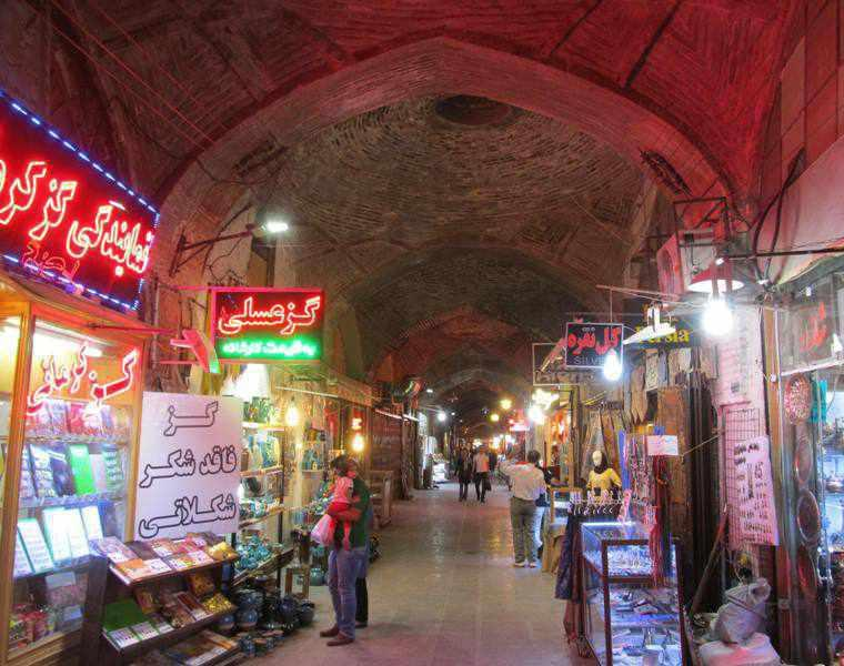 بازار اصفهان، از قدیمی ترین بازارهای ایران