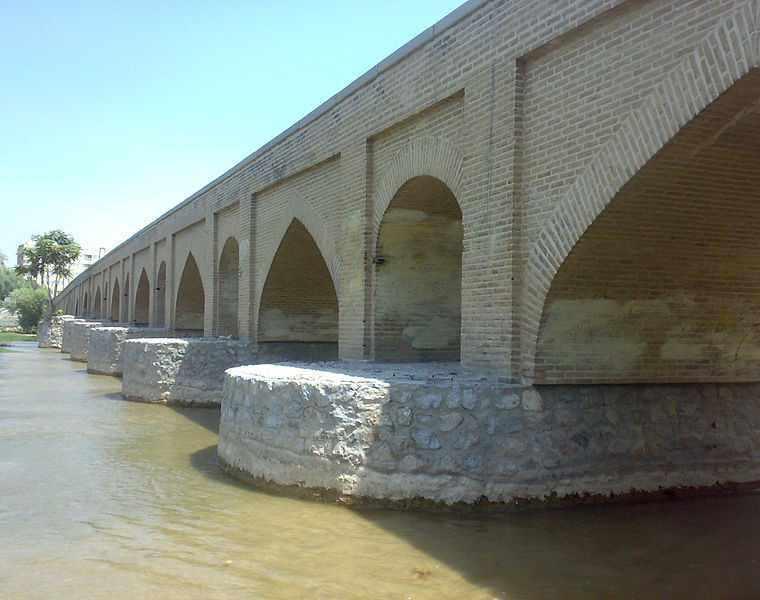 پل مارنان اصفهان، پل باستانی بر روی زاینده رود