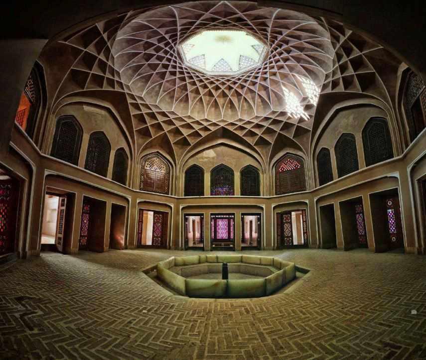 باغ دولت آباد یزد، باغ هزار درخت