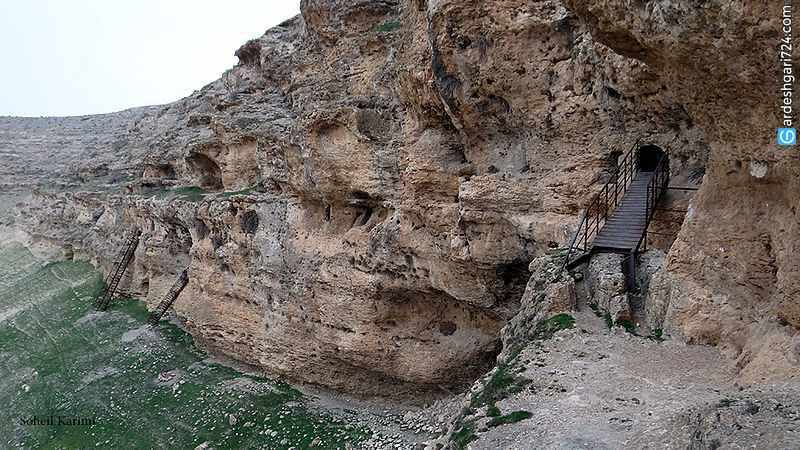 مجموعه صخره ای بی بی کند